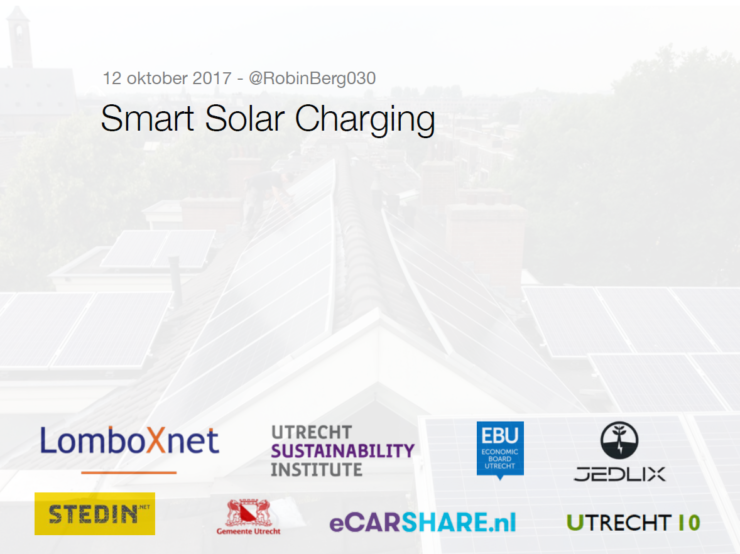 Get Connected Smart Solar Charging presentatie