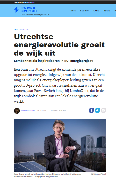 oneworld artikel powerswitch robin berg smart solar charging utrecht iris lighthouse