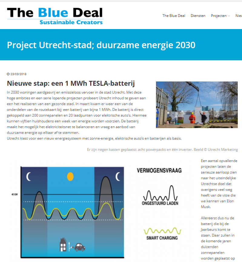 blue deal smart solar charging iris utrecht