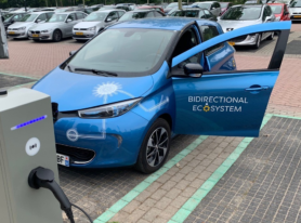 Bidirectioneel laden Renault ZOE